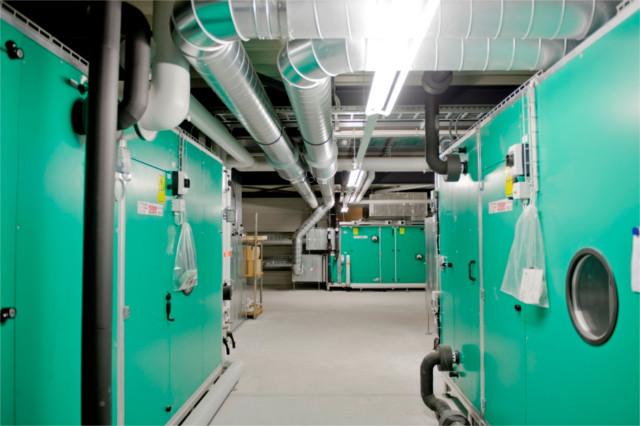 Stöckli Metall AG Wärmerückgewinnungsanlage