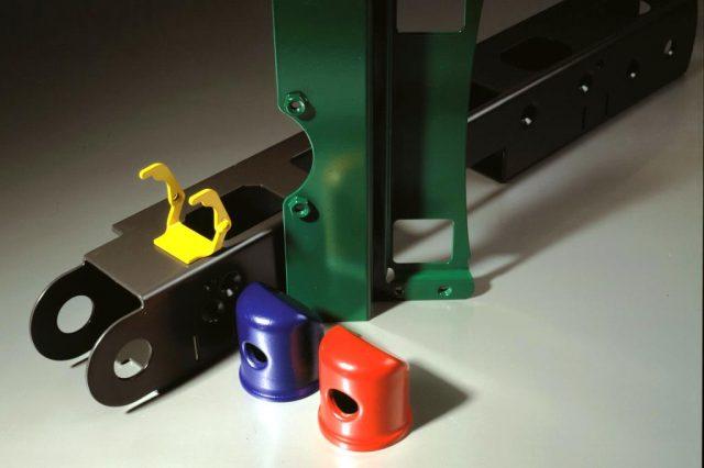 Stöckli Metall farbig pulverbeschichtete Teile