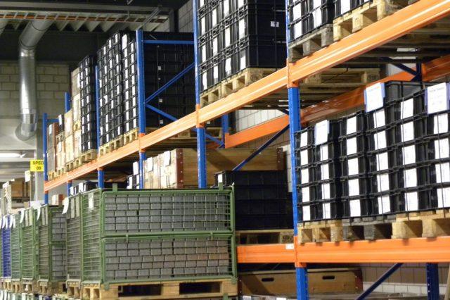 Stoeckli Metall Lagergestell Logistik