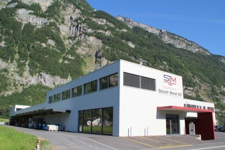 Stoeckli Metall AG - offices and production in Netstal / Switzerland