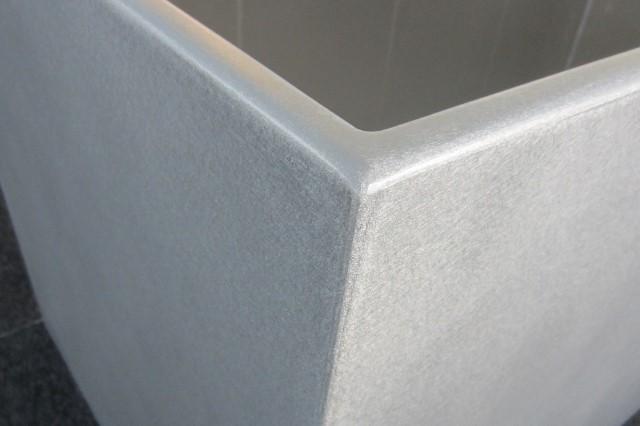 Aluminium Plant Pot Rectangular