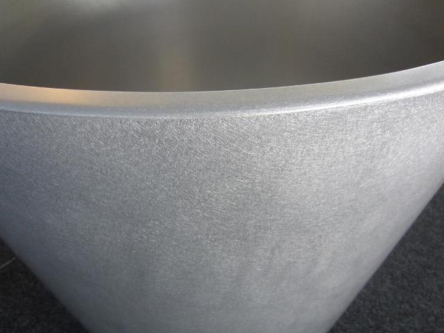 Pflanzentopf Aluminium