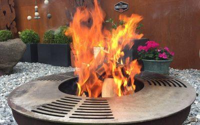 Feuerschale – auch zum Grillieren!