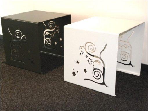Metall Beistell-Tischchen