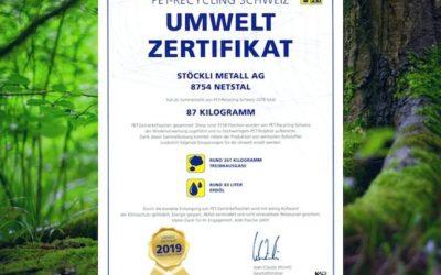 Auszeichnung PET-Recycling