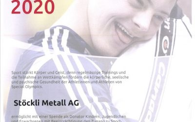 Unterstützung PluSport und Special Olympics Switzerland