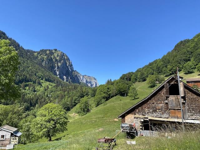 Glarnerland Berg und Stall