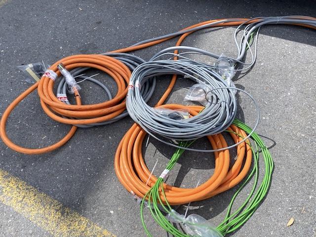 viele Kabel für die Omera